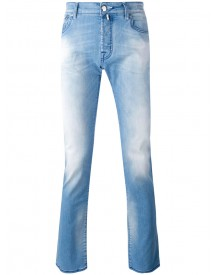 Jacob Cohen - Washed Denim Slim Jeans - Men - Cotton/polyester/spandex/elastane - 38 afbeelding