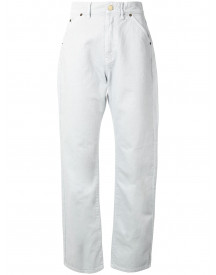 Jacquemus Straight Jeans - Grijs afbeelding