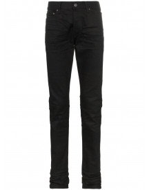 John Elliott The Cast 2 Slim Fit Jeans - Zwart afbeelding