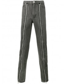 John Lawrence Sullivan - Zip Front Jeans - Men - Cotton - 48 afbeelding