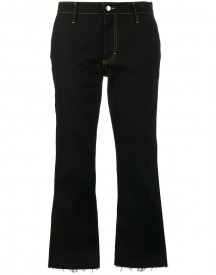 Jour/né - Cropped Flared Jeans - Women - Cotton/spandex/elastane - 38 afbeelding