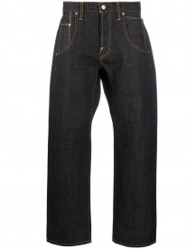 Junya Watanabe Man X Levi's Cropped Jeans - Blauw afbeelding