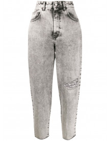 Just Cavalli Cropped Jeans - Grijs afbeelding
