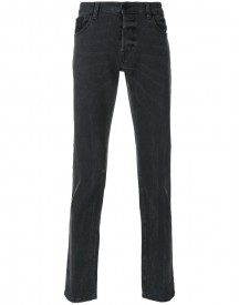 Just Cavalli - Straight-leg Jeans - Men - Cotton/calf Leather/polyurethane/viscose - 31 afbeelding