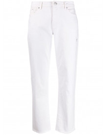 Karl Lagerfeld Straight Jeans - Wit afbeelding