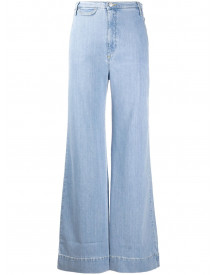 Katharine Hamnett London Denim Top - Blauw afbeelding