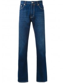 Kent & Curwen - Classic Straight Jeans - Men - Cotton - 48 afbeelding