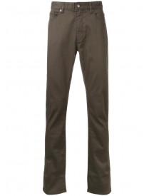Kent & Curwen - Slight Stretch Straight Jeans - Men - Cotton/spandex/elastane - 46 afbeelding