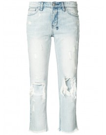 Ksubi - Distressed Cropped Jeans - Women - Cotton - 28 afbeelding