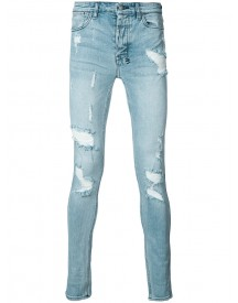Ksubi - Distressed Skinny Jeans - Men - Cotton - 36 afbeelding