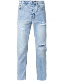 Ksubi - Distressed Tapered Jeans - Men - Cotton - 32 afbeelding