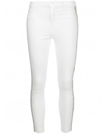L'agence High Waist Jeans - Wit afbeelding