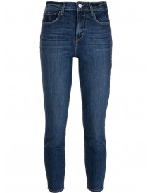 L'agence Cropped Jeans - Blauw afbeelding