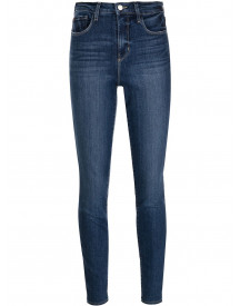 L'agence Skinny Jeans - Blauw afbeelding