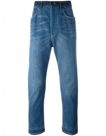 Lanvin - Stonewashed Dropped Crotch Jeans - Men - Cotton/polyester - 31 afbeelding