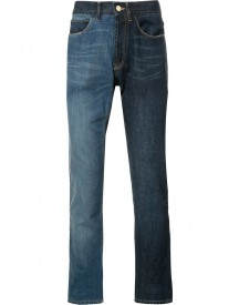 Lanvin - Two-tone Contrast Skinny Jeans - Men - Cotton - 32 afbeelding
