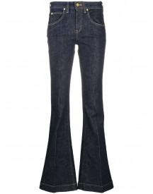 L'autre Chose Flared Jeans - Blauw afbeelding