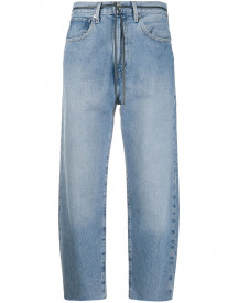 Levi's: Made & Crafted Cropped Jeans - Blauw afbeelding