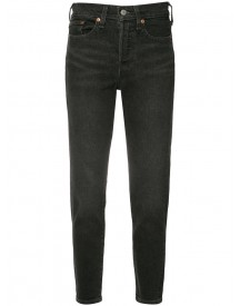 Levi's - Skinny Cropped Jeans - Women - Cotton/spandex/elastane - 24 afbeelding