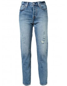 Levi's - Washed Jeans - Women - Cotton - 31 afbeelding