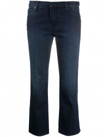 Love Moschino Cropped Jeans - Blauw afbeelding