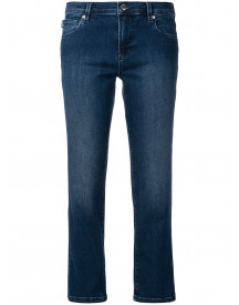 Love Moschino Cropped Low Rise Jeans - Blauw afbeelding