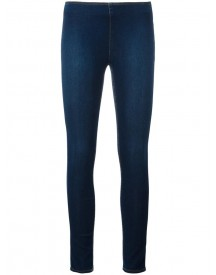 Love Moschino - Cropped Super Skinny Jeans - Women - Cotton/polyamide/spandex/elastane - 44 afbeelding
