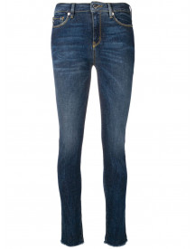 Love Moschino Mid-rise Skinny Jeans - Blauw afbeelding