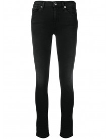 Love Moschino Mid-rise Skinny Jeans - Zwart afbeelding