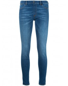 Love Moschino - Skinny Jeans - Women - Cotton/polyester/spandex/elastane - 26 afbeelding