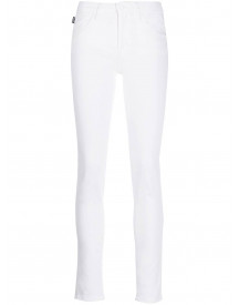 Love Moschino Slim-fit Jeans - Wit afbeelding