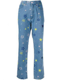 Love Moschino Straight Jeans - Blauw afbeelding