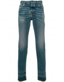Maison Margiela - Classic Light-wash Jeans - Men - Cotton/polyester/spandex/elastane - 31 afbeelding