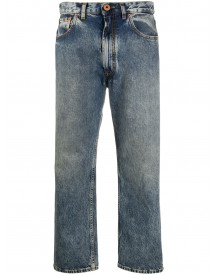 Maison Margiela Cropped Jeans - Blauw afbeelding