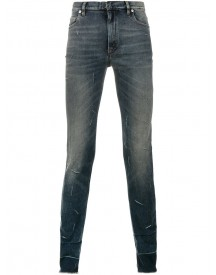 Maison Margiela - Distressed Effect Skinny Jeans - Men - Cotton/spandex/elastane - 31 afbeelding