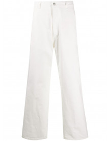 Maison Margiela Straight Jeans - Wit afbeelding