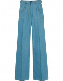 Marc Jacobs Flared Jeans - Blauw afbeelding