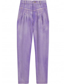 Marc Jacobs High Waist Jeans - Paars afbeelding