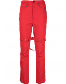 Marc Jacobs Skinny Jeans - Rood afbeelding