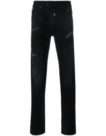 Marcelo Burlon County Of Milan - Relmu Slim Fit Jeans - Men - Cotton/polyester - 30 afbeelding