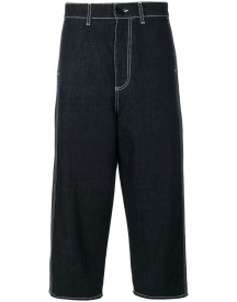 Marni - Denim Cropped Trousers - Women - Cotton - 38 afbeelding