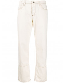 Marni Straight Jeans - Wit afbeelding