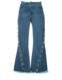 Marques'almeida - Flared Jeans - Women - Cotton - 10 afbeelding