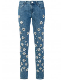 Michael Michael Kors Embellished Jeans - Blauw afbeelding