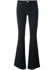 Michael Michael Kors - Mid-rise Flared Jeans - Women - Cotton/polyester/spandex/elastane - 2 afbeelding