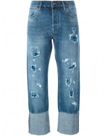 Mih Jeans - 'phoebe' Distressed Jeans - Women - Cotton - 28 afbeelding