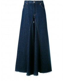 Mm6 Maison Margiela - 5 Pocket Wide Pants - Women - Cotton - 42 afbeelding