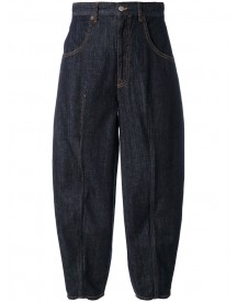 Mm6 Maison Margiela - Cropped Jeans - Women - Cotton - 42 afbeelding