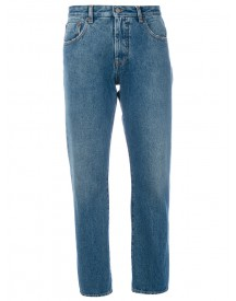 Mm6 Maison Margiela - Cropped Mid Denim Jeans - Women - Cotton/polyester - 42 afbeelding