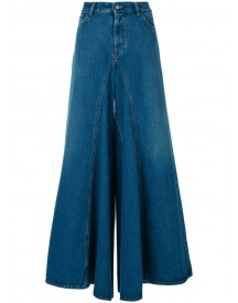 Mm6 Maison Margiela - Flared High Waist Jeans - Women - Cotton/polyester - 38 afbeelding